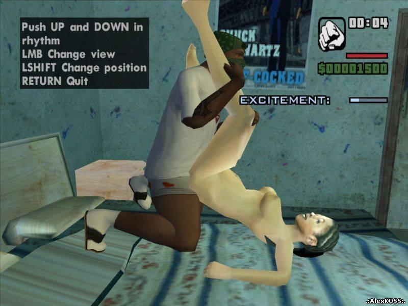 Можно занятся сексом в gta sa с любой девушкой